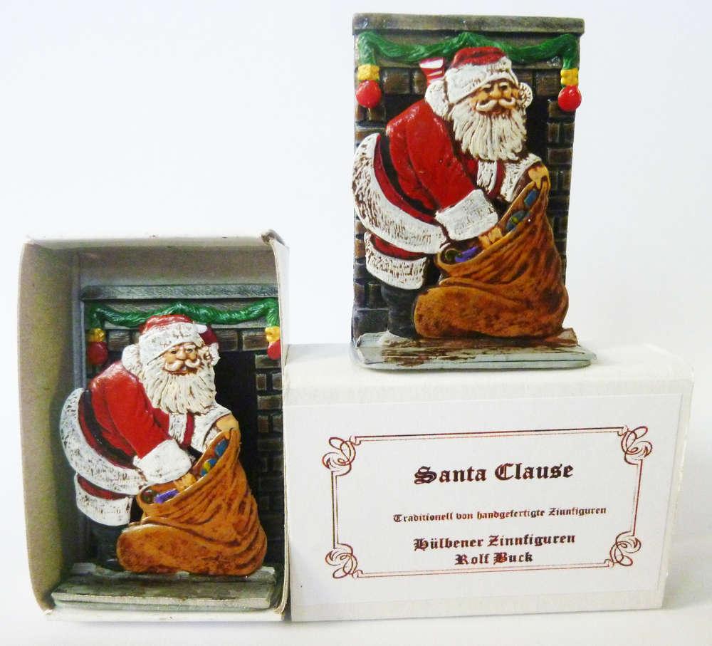 Santa Clause ,Weihnachten in der Streichholzschachtel