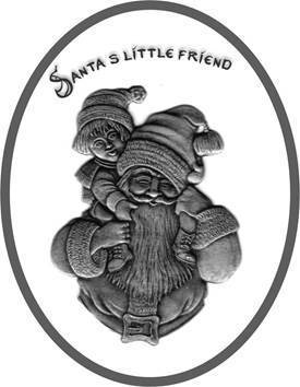 Santa´s little friend / Santa´s kleiner Freund