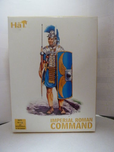 Imperial Roman Command     1/72 Scale     HäT8075