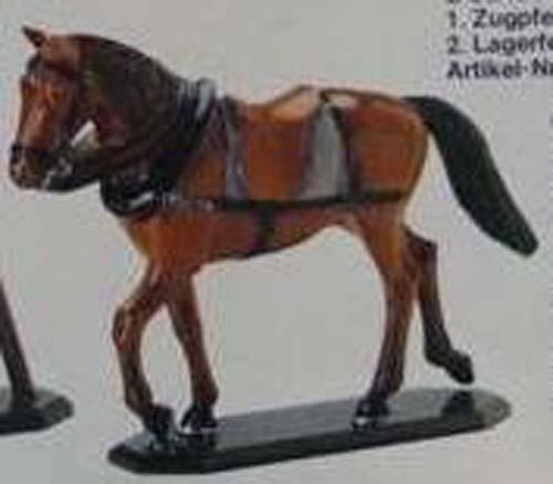 Zinnbrigade Zinnfiguren Zugpferd   4061-1